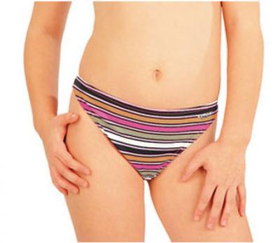 Dívčí plavkové kalhotky bokové Litex 52606