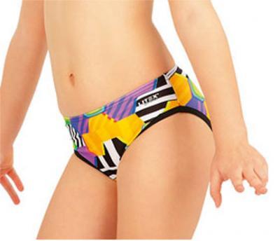Dívčí plavkové kalhotky bokové Litex 52614