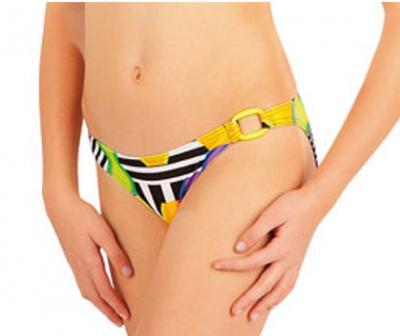 Dívčí plavkové kalhotky bokové Litex 52616
