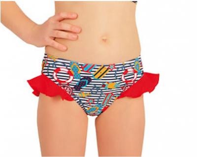 Dívčí plavkové kalhotky bokové Litex 57531