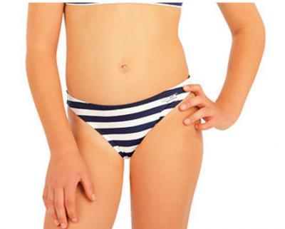 Dívčí plavkové kalhotky bokové Litex 57536