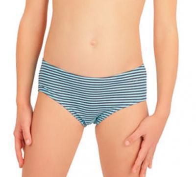 Dívčí plavkové kalhotky bokové Litex 57557