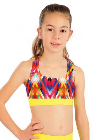 Dívčí plavkový sportovní top Litex 57565
