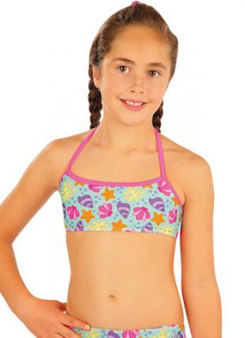 Dívčí plavkový top Litex 52564