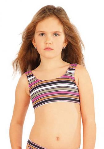 Dívčí plavkový top Litex 52605
