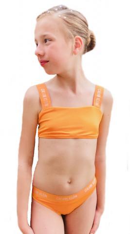 Dívčí plavky Calvin Klein G80G800246