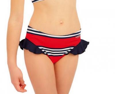 Dívčí plavky kalhotky bokové Litex 63606