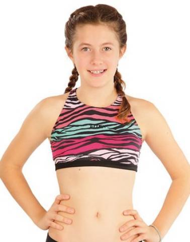 Dívčí plavky sportovní top Litex 63611