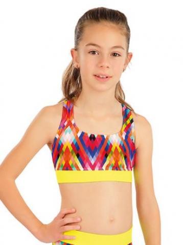 Dívčí plavky sportovní top Litex 63620