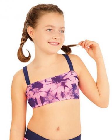 Dívčí plavky top Litex 63597