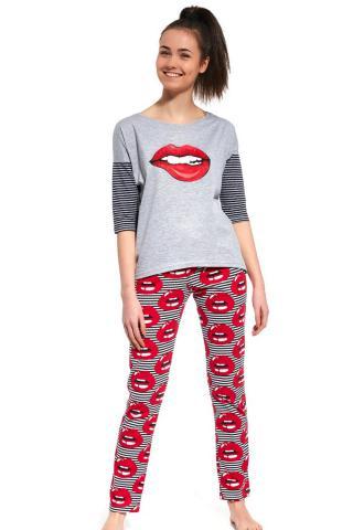 Dívčí pyžamo Cornette 200/27 Lips