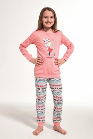 Dívčí pyžamo Cornette 594/107 Kids walk