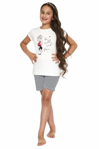 Dívčí pyžamo Cornette 788/83 cream