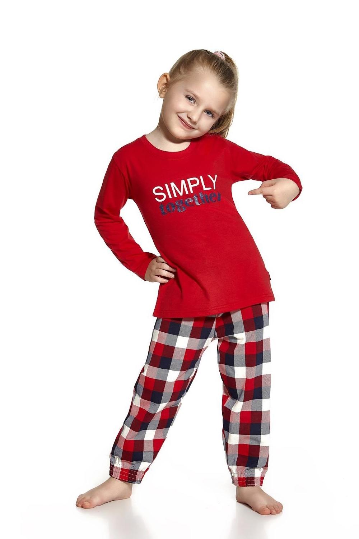 Dívčí pyžamo Cornette 972/46 Simply together