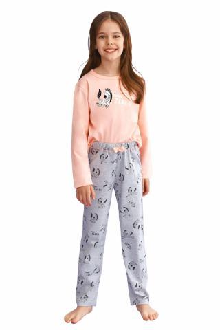 Dívčí pyžamo Taro 2615 Sarah růžové