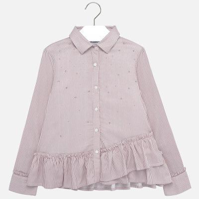Dívčí slavnostní košile Mayoral 7107