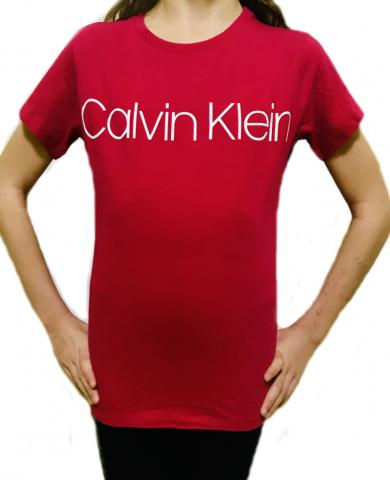 Dívčí tričko Calvin Klein 800212 red