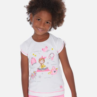 Dívčí triko Mayoral 3016