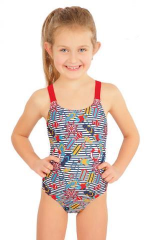 Jednodílné dívčí plavky Litex 57532