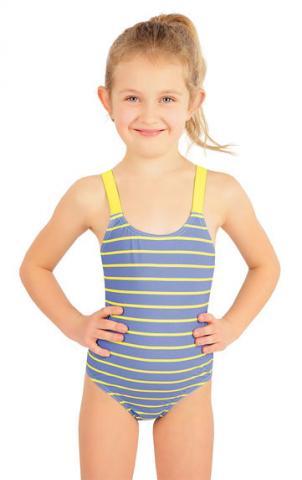 Jednodílné dívčí plavky Litex 57542