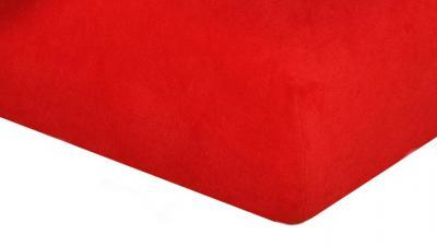 Jersey prostěradlo  červená C