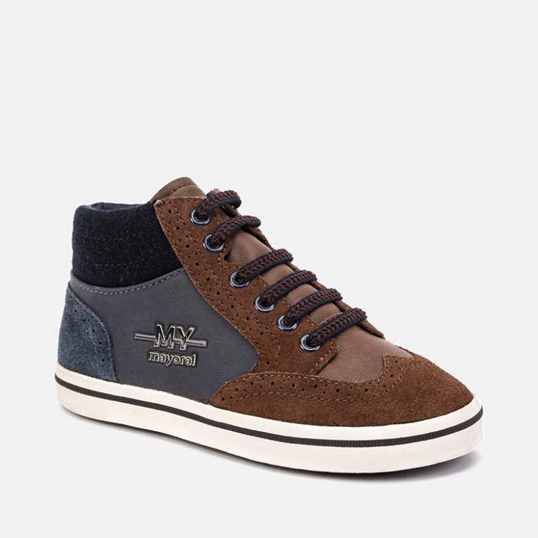 Kožená, kotníková  obuv  MAYORAL 44091