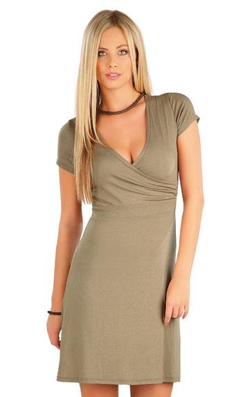 Dámské šaty s krátkým rukávem Litex 58078