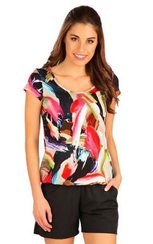 Dámské tričko s krátkým rukávem Litex 5B023