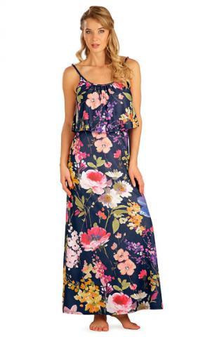Dámské šaty dlouhé s volánem Litex 5B092