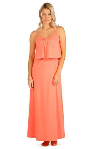 Dámské šaty dlouhé s volánem Litex 5B099
