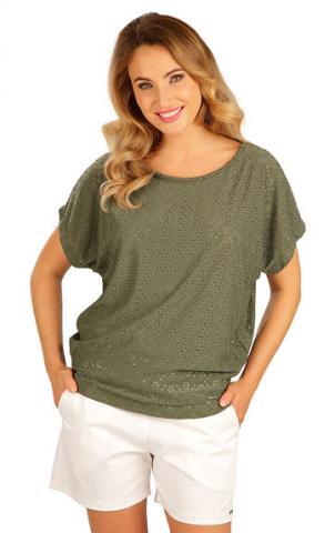 Dámské tričko s krátkým rukávem Litex 5B120