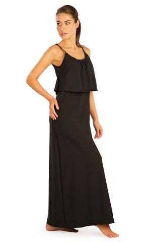 Dámské šaty dlouhé s volánem Litex 5B187
