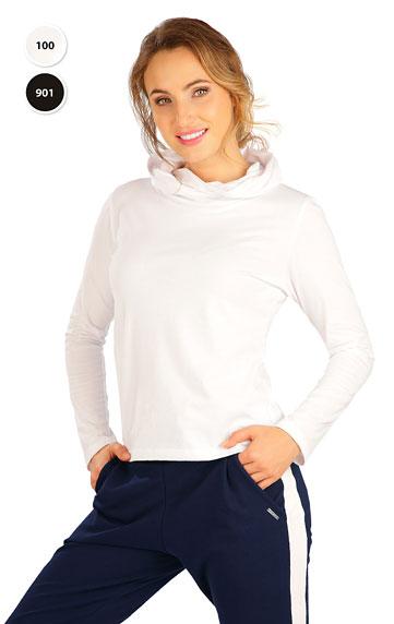 Dámské tričko s překříženou kapucí Litex 5B279