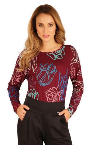Dámské tričko s netopýřím rukávem Litex 60025