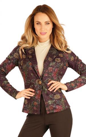 Dámské sako s dlouhým rukávem Litex 60030