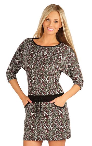 Dámské šaty s 3/4 rukávem Litex 60036