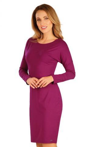 Šaty dámské s dlouhým netopýřím rukávem Litex 60127