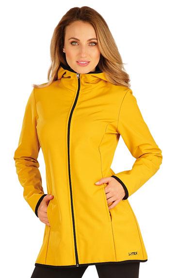 Dámská bunda softshellová s kapucí Litex 60276