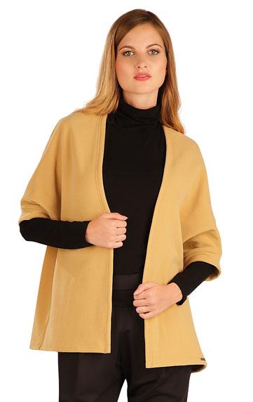 Dámský fleecový cardigan s netopýřím rukávem Litex 60495