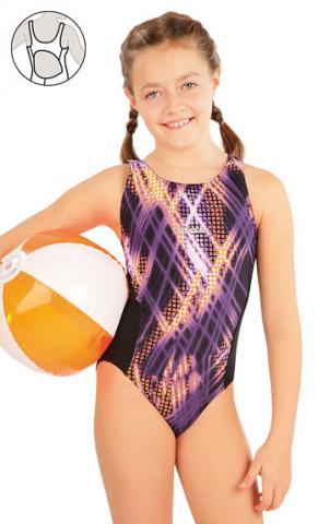 Dívčí jednodílné sportovní plavky Litex 63649