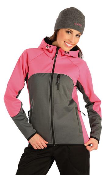 Dámská bunda softshellová s kapucí Litex 73120