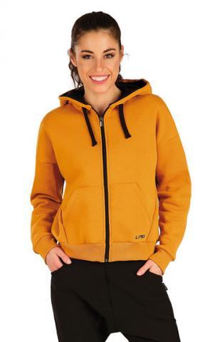 Dámská mikina na zip s kapucí Litex 7A306