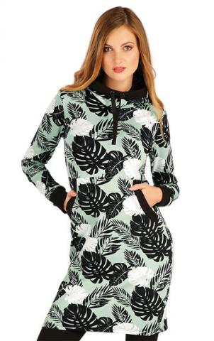 Dámské mikinové šaty s kapucí Litex 7A321