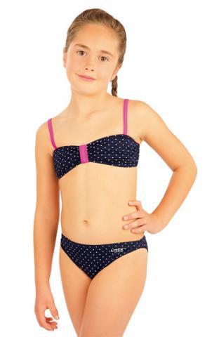 Litex 88454 Dívčí plav.podprsenka BANDEAU bez výztuž