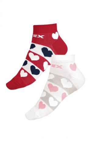 Designové ponožky nízké Litex 9A003