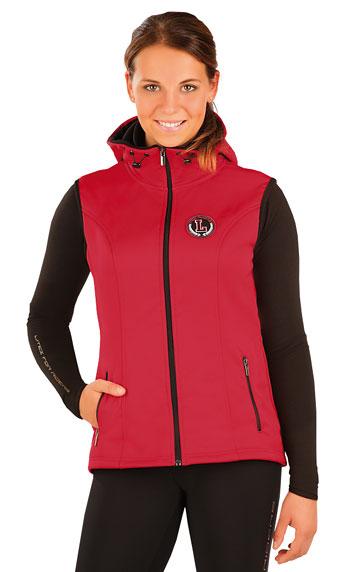 Dámská vesta s kapucí Litex J1051