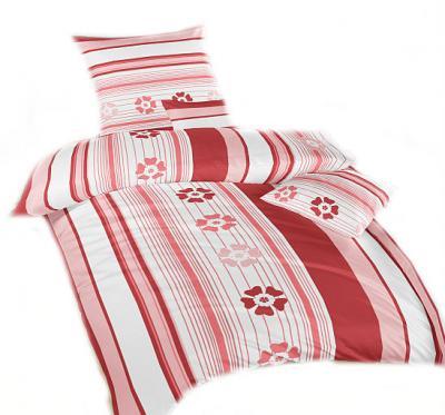 Ložní povlečení bavlna DADKA Jarní romance terakota
