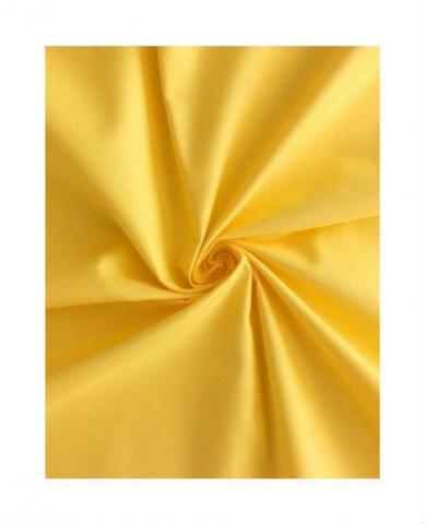 Ložní povlečení nežehlivý satén Dadka žlutá