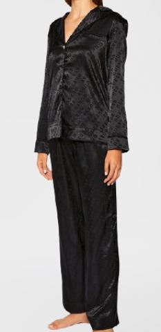 Luxusní dámské saténové pyžamo GUESS O0BX01