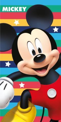 Osuška Mickey Cool Stripes 70x140